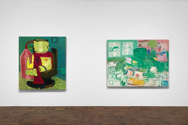 Murder in the Kitchen, Early Works by Peter Saul, Michael Werner | New York (2 of 4)
