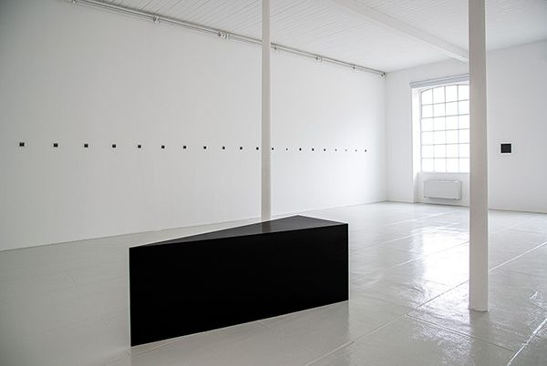 Underlining - Space: place, person, time, each of which touches on the other (Group Exhibition), Tucci Russo