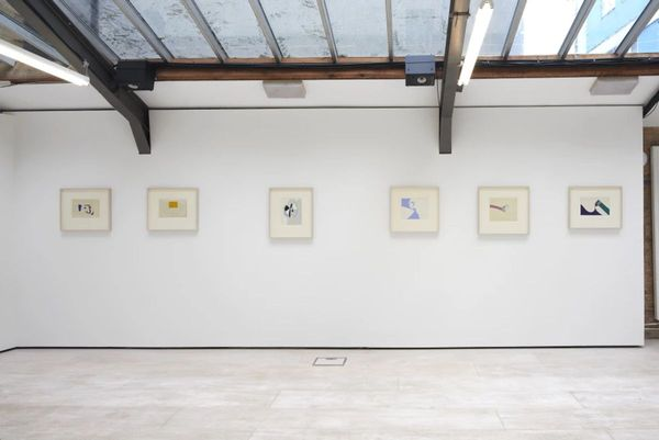 WORKS ON PAPER FROM THE 1950S TO THE 1990S