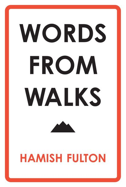Words From Walks - A digital exhibition in the format of a leaflet