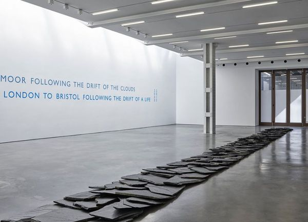 From a Rolling Stones to Now by Richard Long, Lisson Gallery | West 24th Street, New York