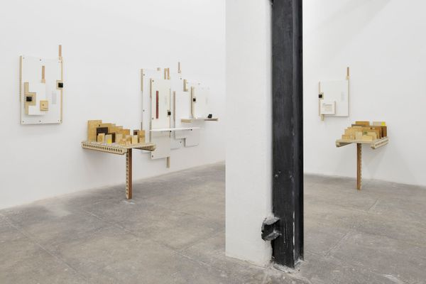 The Sceptical Structures of Max by James Beckett, T293 (2 of 3)