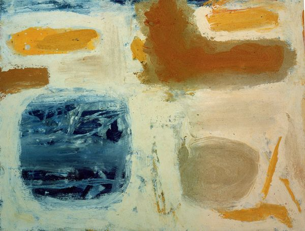 Blue, Sand and Ochre by William Scott, Anita Rogers Gallery
