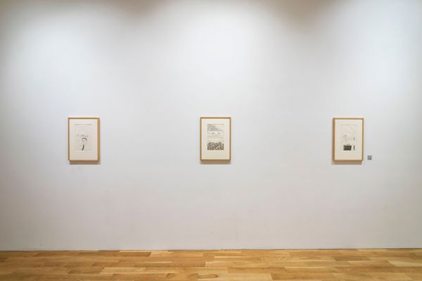 Films by James Scott, Etchings by David Hockney