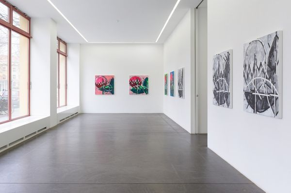 Solo exhibition by Heimo Zobernig, Galerie Nagel Draxler (2 of 5)