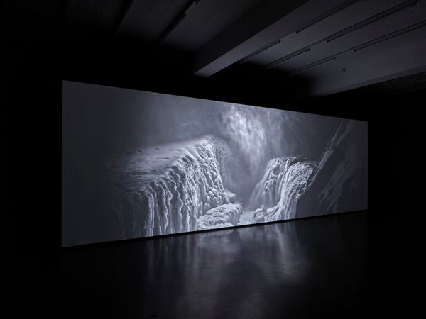 Thickens, pools, flows, rushes, slows by Julian Charrière, Sies + Höke (6 of 6)