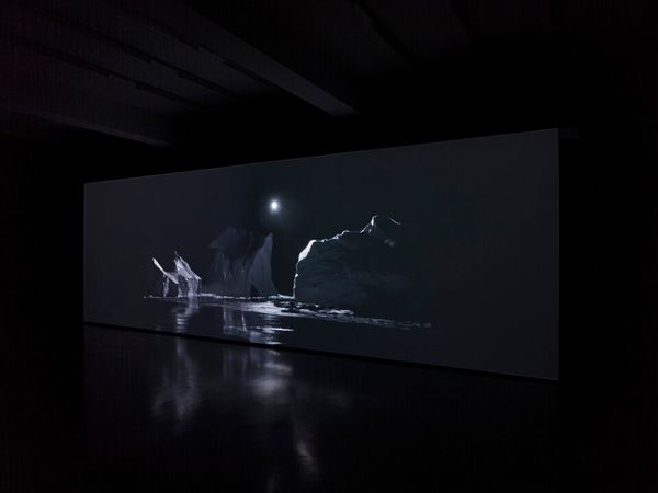 Thickens, pools, flows, rushes, slows by Julian Charrière, Sies + Höke (3 of 6)
