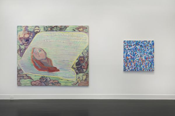 Curated Selection: New Painting, Sculpture, and Works on Paper (Group Exhibition), Petzel Gallery | East 67th Street (3 of 8)