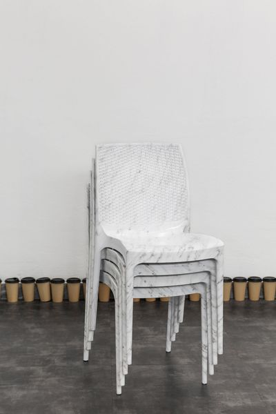 Exclusive Providers (White Marble Stacked Chairs)