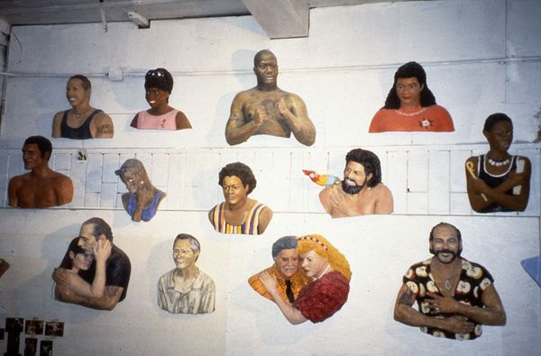 Works from the 42nd Street Art Project, 1993