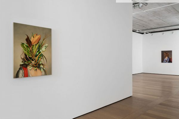 The Grass divides as with a Comb by Ewa Juszkiewicz, Almine Rech Gallery   London Grosvenor Hill