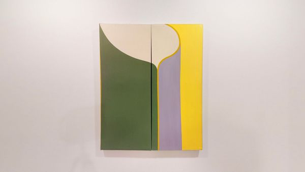 Paintings from the 1960s by Daniel Gorski, Loretta Howard Gallery (2 of 3)