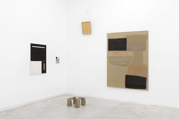 When B is located between C and D (Group Exhibition), Galería Heinrich Ehrhardt (4 of 5)