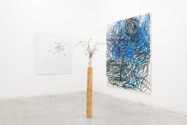 When B is located between C and D (Group Exhibition), Galería Heinrich Ehrhardt (5 of 5)