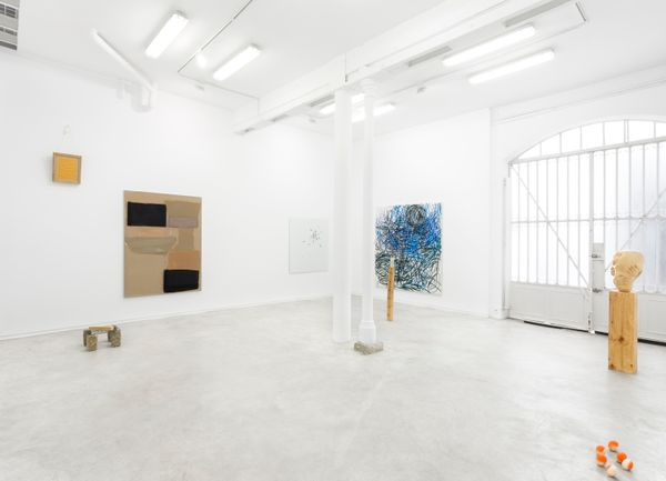 When B is located between C and D (Group Exhibition), Galería Heinrich Ehrhardt (2 of 5)