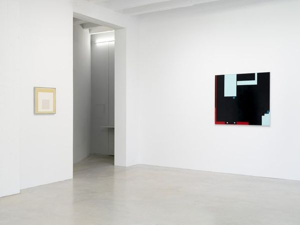 Orthodox Abstraction (and of course there was poetry) (Group Exhibition), Galerie Nordenhake | Berlin (2 of 10)