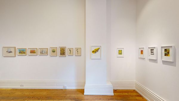 Works on Paper by Peter Schuyff, Carl Kostyal | London