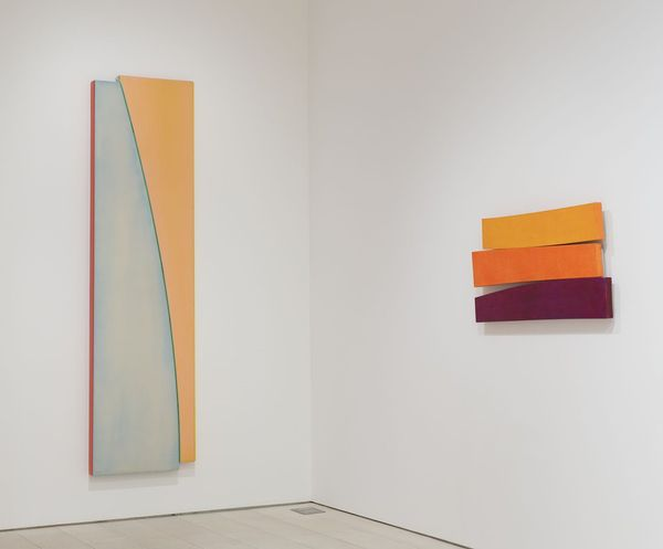 Flares by Kenneth Noland, PACE | New York