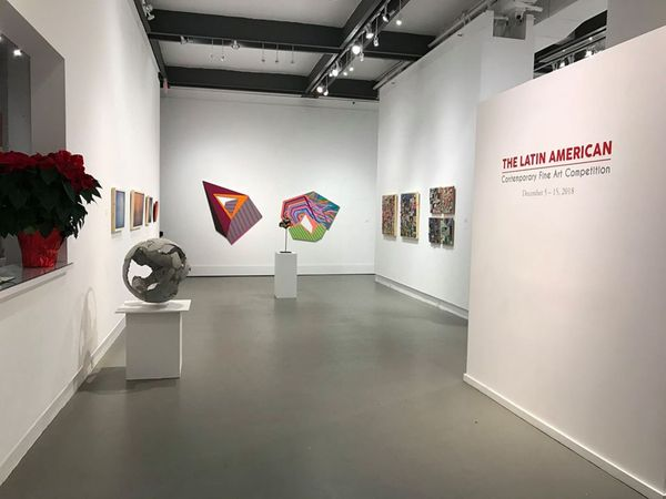 The Latin American Fine Art Competition Exhibition