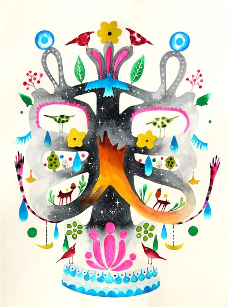 Tree of life with shapeshifters