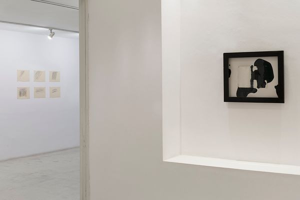 Think about the size of the universe, then brush your teeth an go to bed (Group Exhibition), Galeria Joan Prats