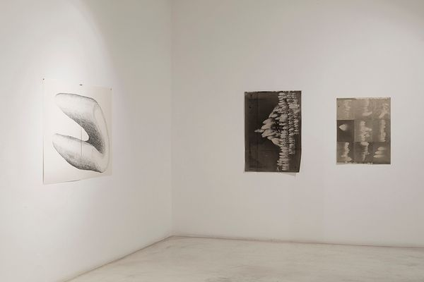 Think about the size of the universe, then brush your teeth an go to bed (Group Exhibition), Galeria Joan Prats (3 of 6)