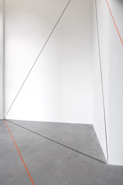 Fred Sandback by Fred Sandback, Galerie Thomas Schulte (3 of 3)
