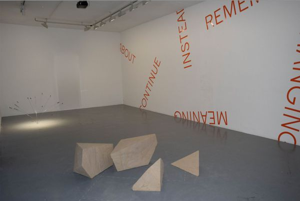 Oblique Strategies / Part 2 (Group Exhibition), Gallery Martine Aboucaya