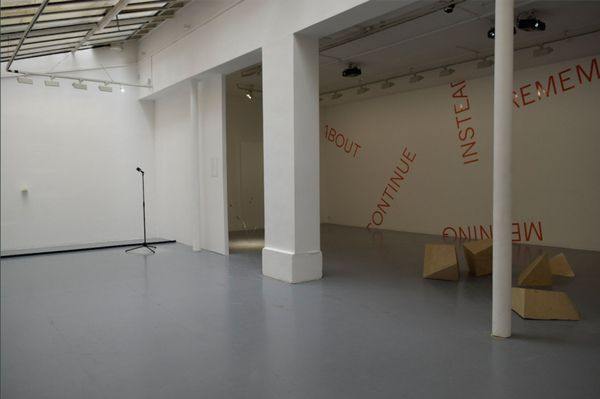 Oblique Strategies / Part 2 (Group Exhibition), Gallery Martine Aboucaya (2 of 10)