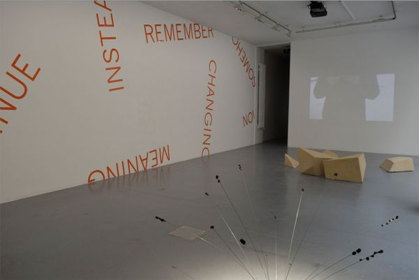 Oblique Strategies / Part 2 (Group Exhibition), Gallery Martine Aboucaya (9 of 10)