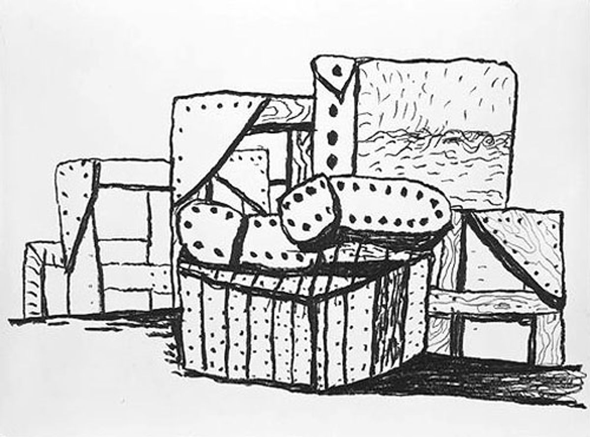 Eyes Wide Open: Saul Steinberg & Philip Guston, Prints, Drawings, Objects