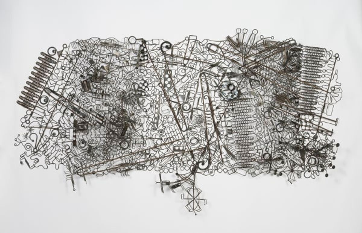 Susan Woods: Drawing with Metal