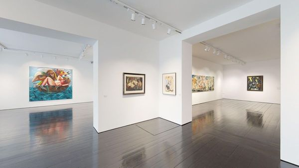 Max Beckmann im dialogue Cecily Brown, Ella Kruglyanskaya, Dana Schutz (ground floor)