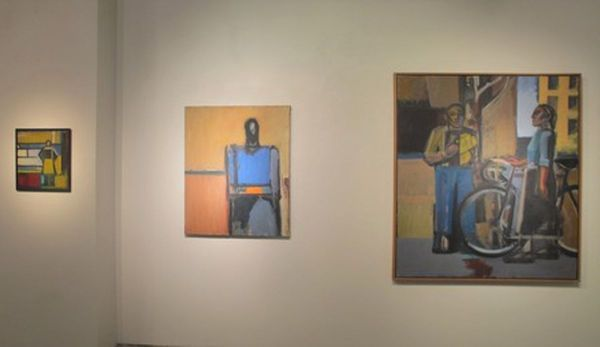 Conversations And Situations - Paintings And Drawings, 1976-2019