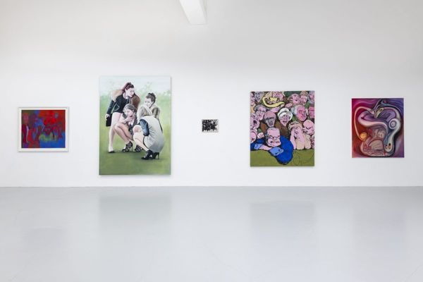 Crowd (Group Exhibition), Hannah Barry Gallery (2 of 11)