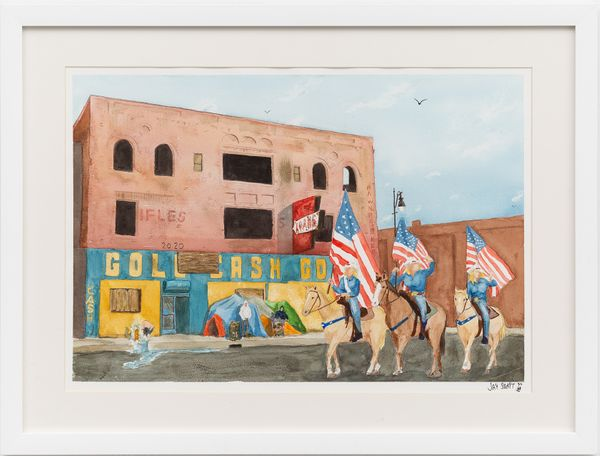 Independence Day  by Jay Samit, Richard Taittinger Gallery