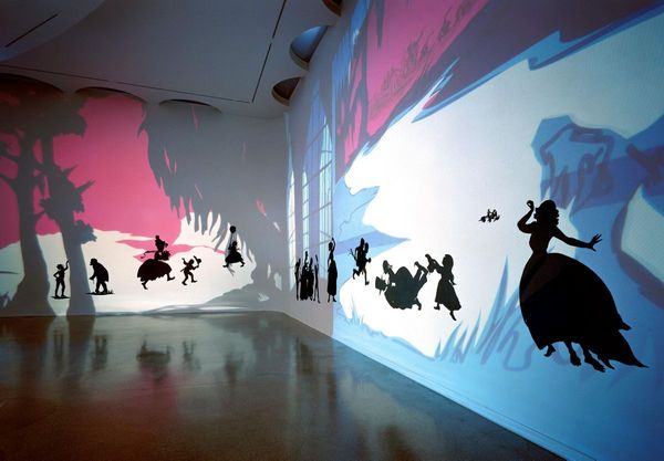From Black and White to Living Color: The Collected Motion Pictures and Accompanying Documents of Kara E. Walker