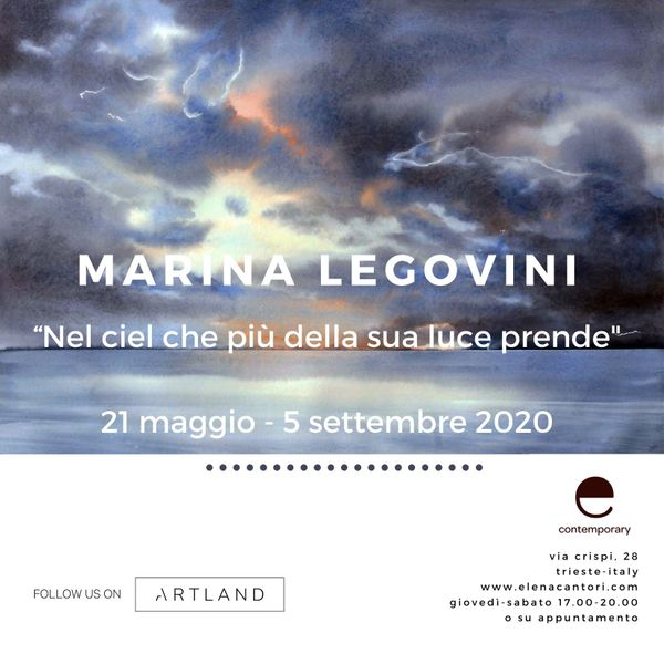 Marina Legovini solo show  - More than its light
