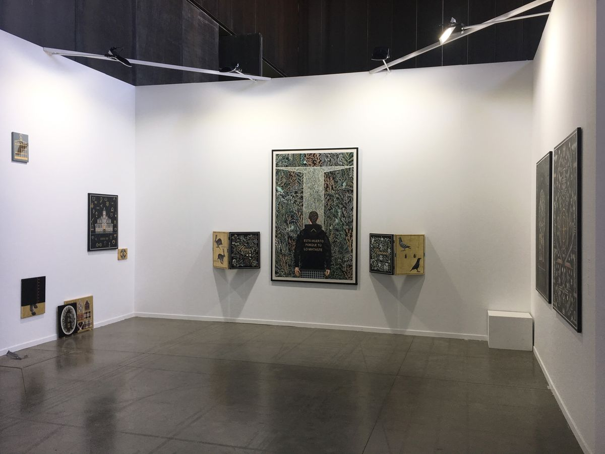 La Gran at Estampa Art Fair 2017