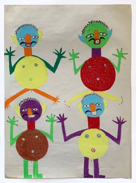 Ahoi Ashtami: Indian Drawings from the 1960s