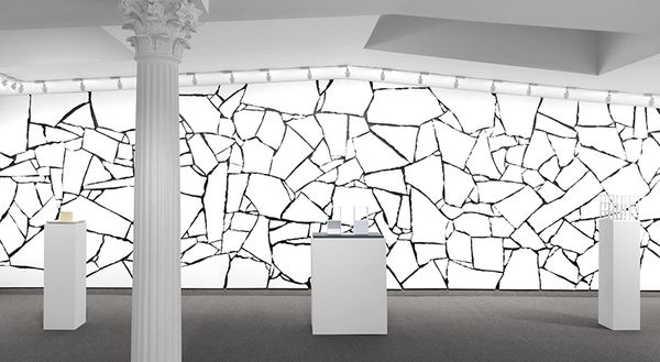 Forms Derived from a Cube in Two and Three Dimensions, and One Wall Work