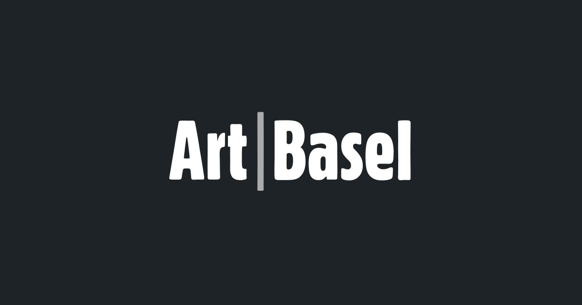 Art Basel 2020 - I'd Like to Hear Your Voice