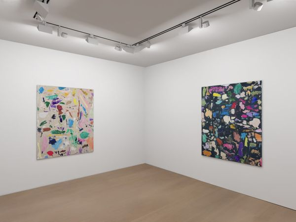 Solo exhibition by Secundino Hernández, Victoria Miro Gallery | 16 Wharf Road (2 of 4)