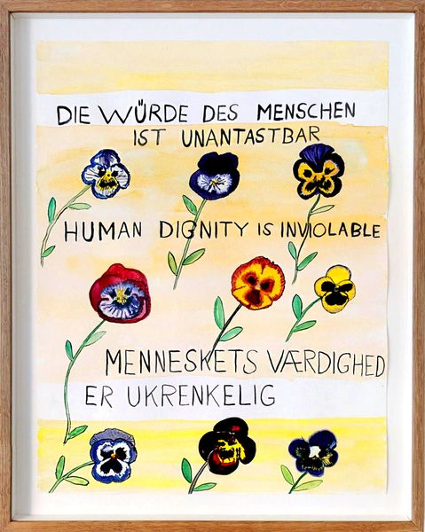 Human Dignity is Inviolable