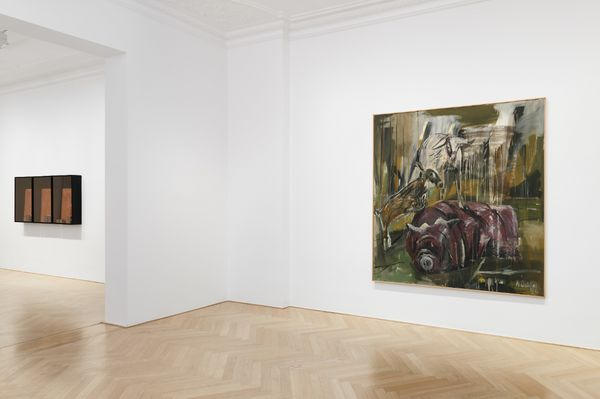 Summer show (Group Exhibition), Galerie Max Hetzler | Bleibtreustraße 45 (3 of 5)