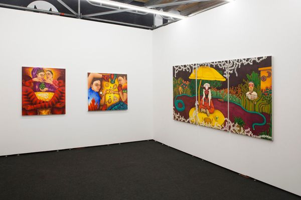 Material Art Fair, Mexico City by Maria Fragoso, Thierry Goldberg Gallery (4 of 4)