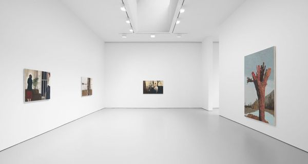 The Lost Paradise by Mamma Andersson, David Zwirner | 19th Street (2 of 6)