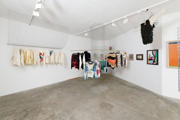 Modes & Travaux : A collection of artists' sweaters proposed by The Drawer