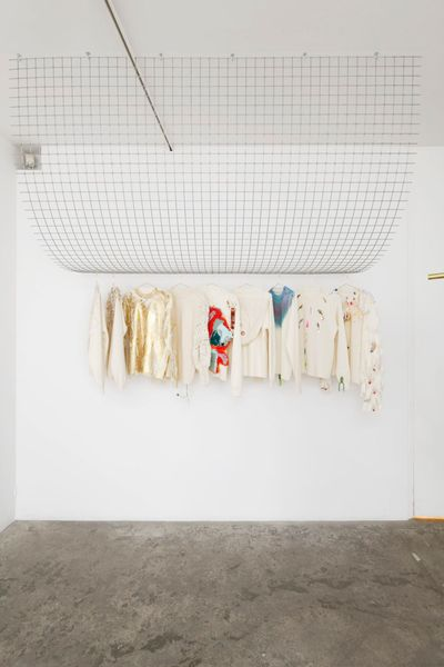 Modes & Travaux : A collection of artists' sweaters proposed by The Drawer (Group Exhibition), Galerie Georges-Philippe & Nathalie Vallois