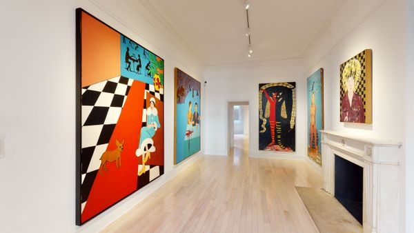 Solo exhibition by Joan Brown, Venus Over Manhattan (4 of 7)